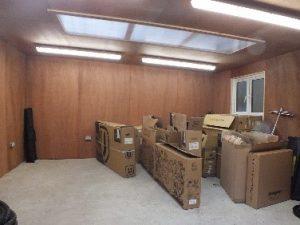 Secured storage space East Bergholt - rural offices